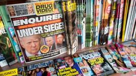 National Enquirer Publisher Admits Paying Hush Money