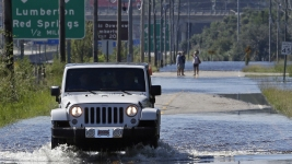 'Nightmare That Won't End': Florence Evacuees Can't Return Yet