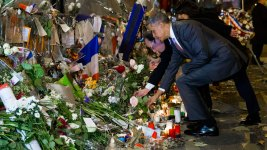 Obama Honors Paris Attack Victims at Bataclan