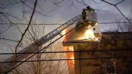 Crews Battle Massive 10-Alarm Fire in Cambridge, Mass.