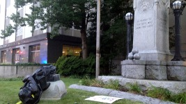 Sheriff Pursuing Felonies After Confederate Statue Torn Down