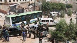 Siege of Syrian City Daraya Ends, 3,200 Evacuated