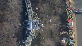 Train Crash in Germany Kills 10, Injures Scores