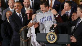 'Among Sox Fans, I Am Cubs' No. 1 Fan': Obama Honors Cubs