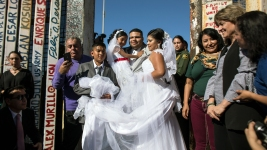 Wedding Held for US Man, Mexican Woman at Calif. Border