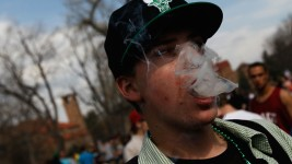 Study: More College Students Regularly Smoke Pot