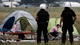 Greek Authorities Evacuate Refugee Camp