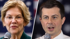 Warren, Buttigieg Scrap Puts Democratic Divide on Display
