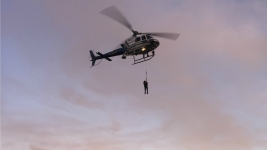 2 Suspected Vandals Stuck on Cliff Mid-Escape Get Helicopter Rescue