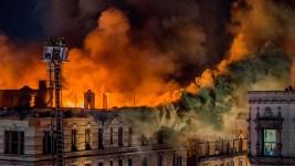 9 Hurt As Massive Blaze Rips Through NYC Building