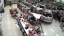 Caught on Video: SUV Smashes Into Texas Goodwill Store