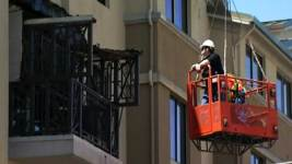 Contractor Wants to Join Investigators' Balcony Inspection