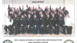 West Virginia Corrections Trainees Suspended Over Nazi Salute Photo