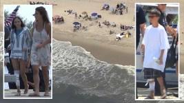 2 Kids Bitten in NY Shark Attacks; Tooth Sticks in Boy's Leg