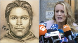 Daniels Reveals Sketch of Man She Says Threatened Her