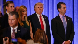 Trumps, Foundation Sued by NY AG Over Alleged Self-Dealing