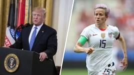 Trump Tells US Soccer Star 'Never Disrespect' White House