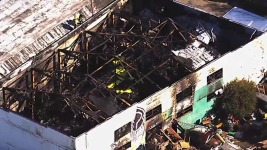 36 Dead in Oakland Warehouse Blaze; Recovery Stalled