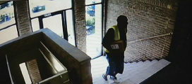 Caught on Cam: Man Takes Package From Bucktown Building