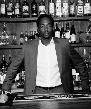 """Real Steel's"" Anthony Mackie Is a ""Fat Boy at Heart"""