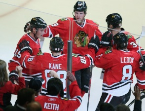 Kane, Smith Score as Blackhawks Beat Buffalo 2-1