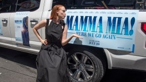 Wynn Makes Film Studio Debut in 'Mamma Mia' Sequel