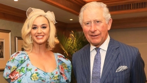 Prince Charles Meets Katy Perry During Royal Tour Of India