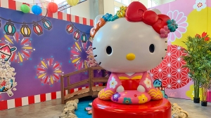 Hello Kitty Celebrates 45 Years With Exhibition in Los Angeles