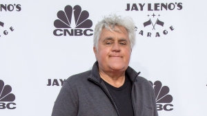 Jay Leno Survives Stunt Car Crash While Taping TV Show