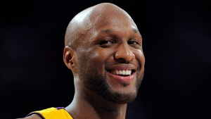 Lamar Odom Makes Public Return at Kanye West Show