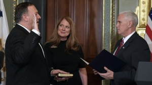 Mike Pompeo Swearing In Ceremony