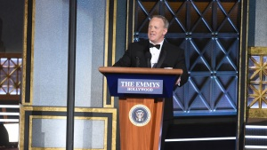 Spicer Says Critics 'Reading Too Much Into' Emmy Appearance