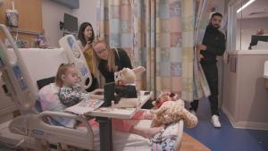 Drake Visits Chicago-Area Girl Awaiting Heart Transplant