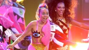 Miley Cyrus' Wacky MTV VMAs Outfits