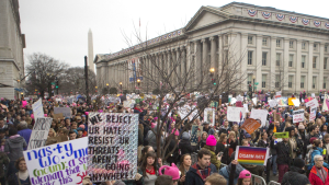 Chicagoans Return Home From the Women's March on Washington