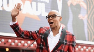 RuPaul Honored on the Hollywood Walk of Fame