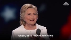 Hillary Clinton at Convention: 'Sky's the Limit'