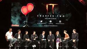 'It: Chapter Two' Cast Talks Intense Shoot at Comic-Con