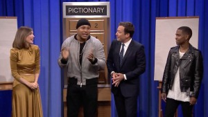 WATCH: Pictionary with LL Cool J, Rose Byrne and Big Sean