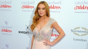 Lindsay Lohan Blasts Fiancé on Social Media