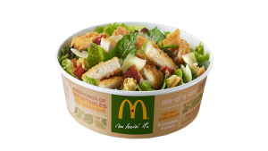 McDonald's New Salad Has More Fat, Calories Than a Big Mac