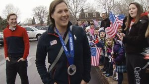 Buffalo Grove School Welcomes Olympian Megan Bozek