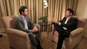 John Stamos Helps Harry Out with Bat Mitzvah Message