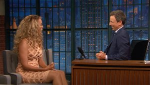 'Late Night': Tyra Banks Dishes on Her Favorite 'AGT' Singer