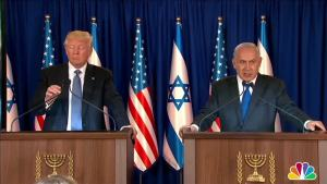 Netanyahu, Trump Speak in Israel About Regional Stability