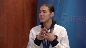 Jason Brown on Olympics, Media Attention & His Pony Tail
