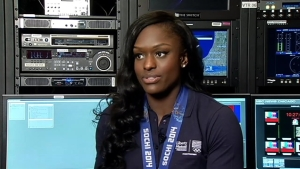 Aja Evans Describes Olympic Experience