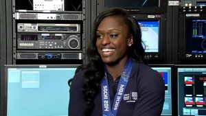 Aja Evans on What It's Like to Bobsled