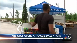Mini Golf Opens at Maggie Daley Park