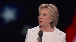 Watch Hillary Clinton's Full Speech at the 2016 DNC